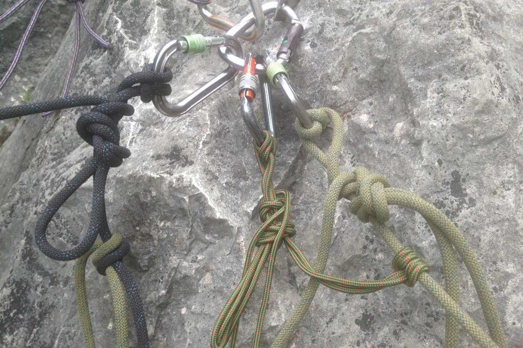 Bergrettung System Seilverlängerung