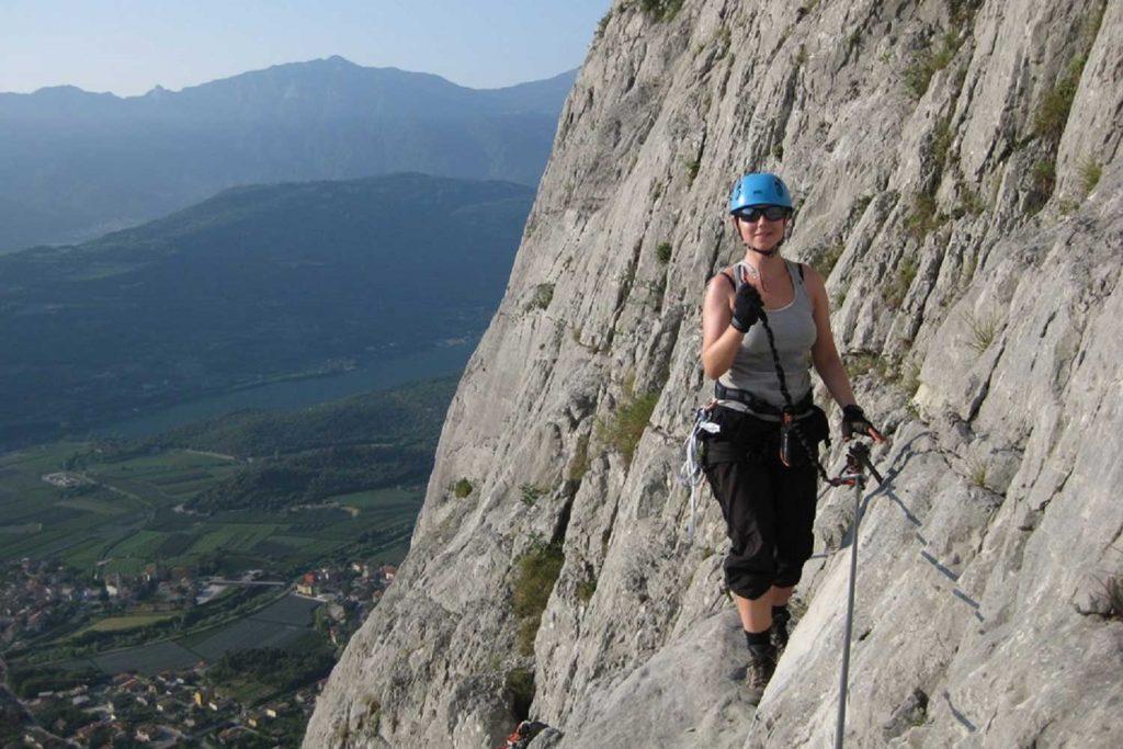 Klettersteige-am-Gardasee---Via-Ferrata-Ernesto-Che-Guevarra