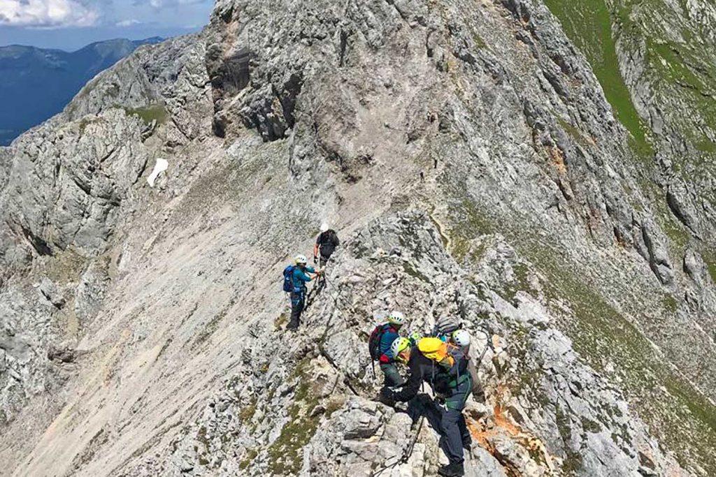 Mittenwalder-Klettersteig---Am-Steigende