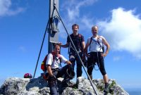 Pidinger-Klettersteig----Am-Gipfel