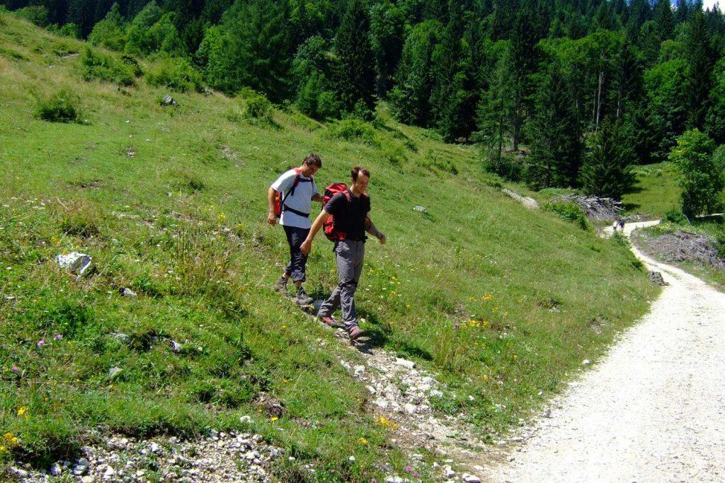 Pidinger-Klettersteig----Beim-Abstieg