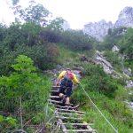 Pidinger-Klettersteig----Die-leichten-Passagen
