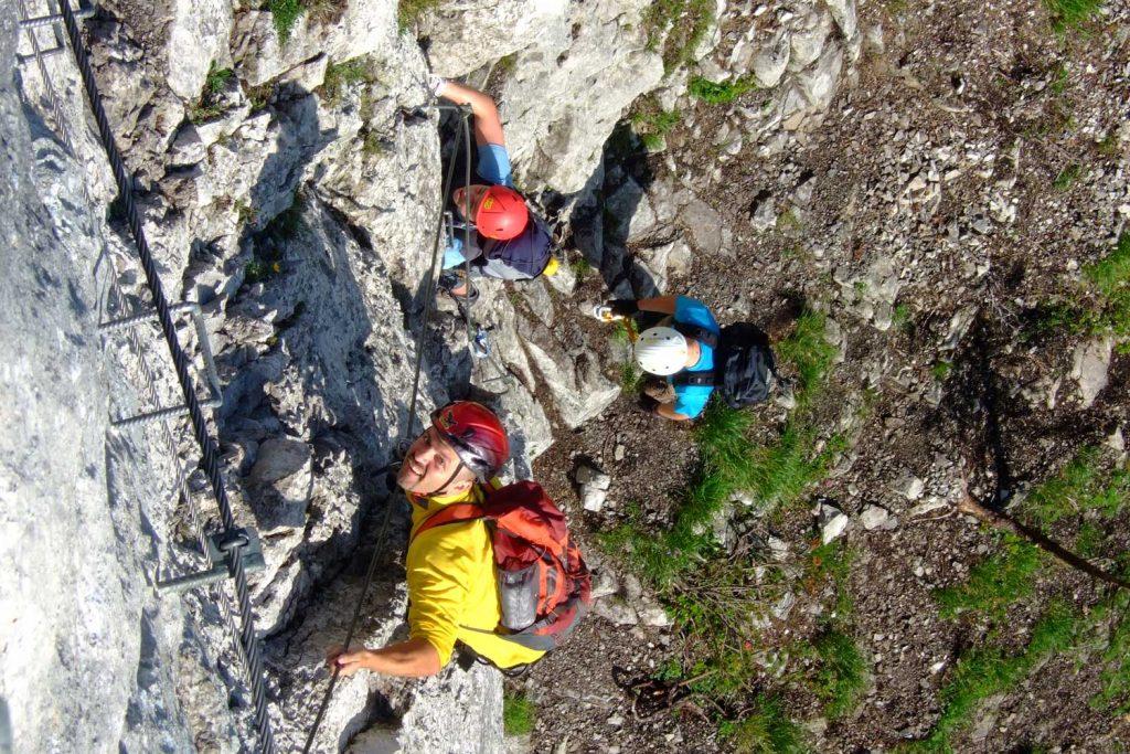 Pidinger-Klettersteig----Im-Steilstück