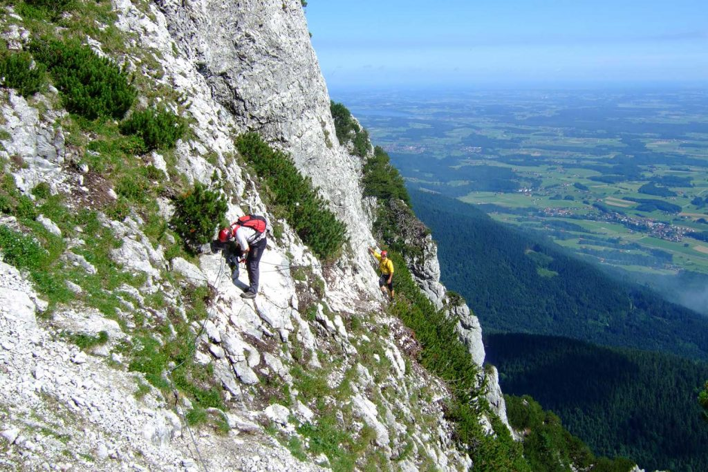 Pidinger-Klettersteig----Querung-zur-Ausstiegswand