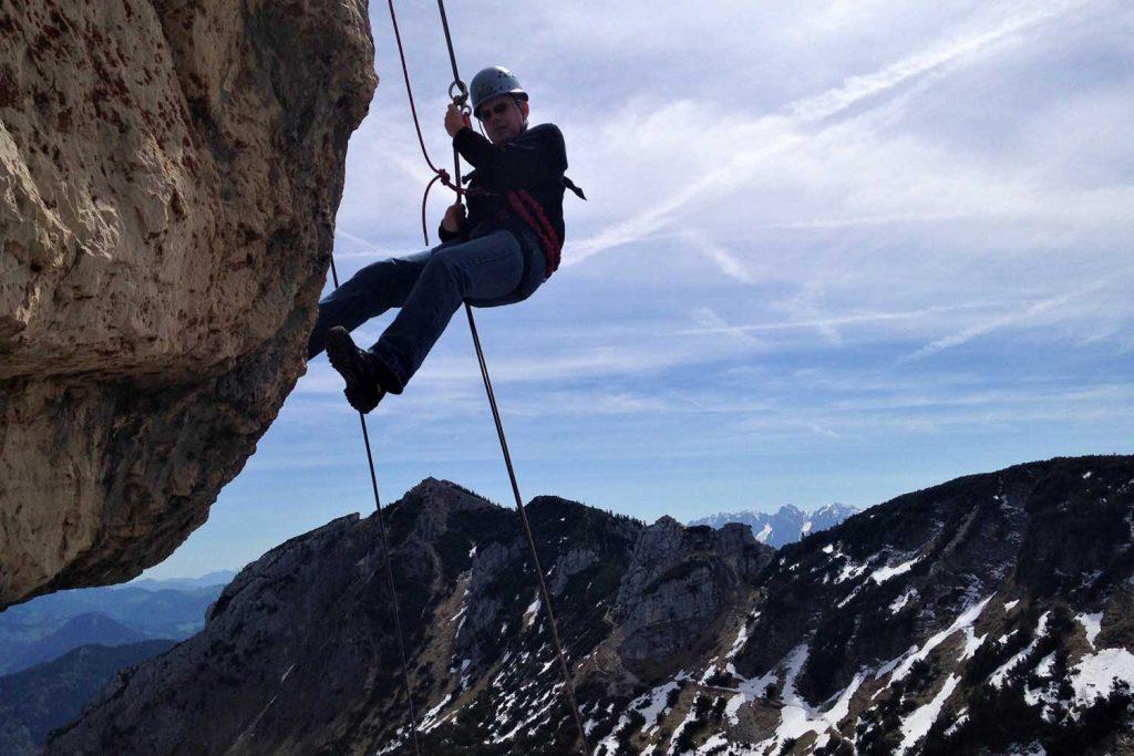 Schnuppertag-Klettersteig---Abseilfahrt