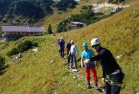 Schnuppertag-Klettersteig---Beim-Zustieg