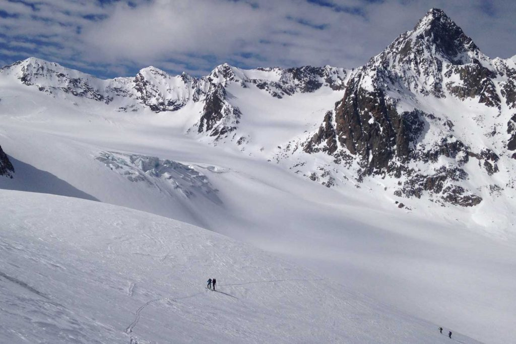 Skidurchquerung-Stubaier-Alpen---Sulztalferner