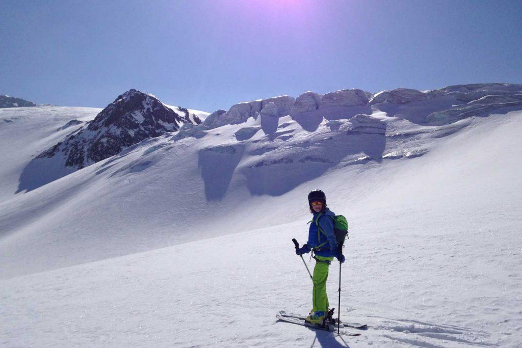 Skidurchquerung-Stubaier-Alpen---Sulztalferner-Gletscherbruch