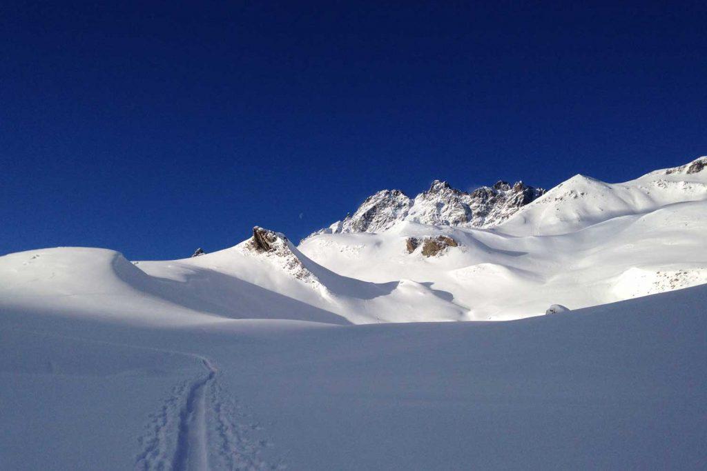 Skitouren-Heidelberger-Hütte---Anstieg-Breite-Krone