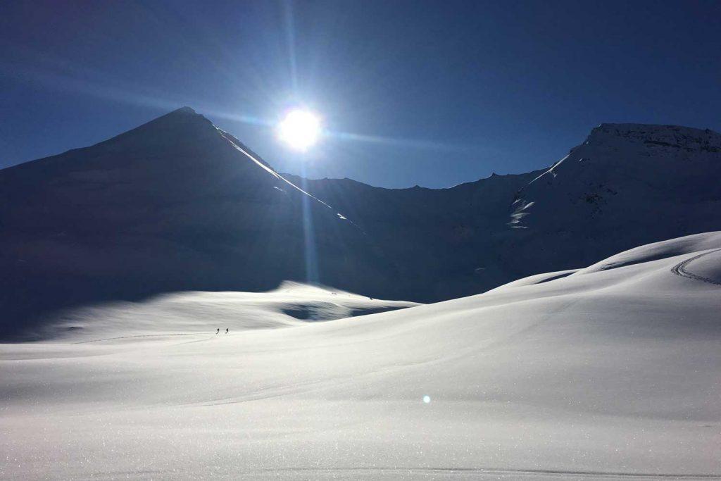 Skitouren-Heidelberger-Hütte---Neuschnee