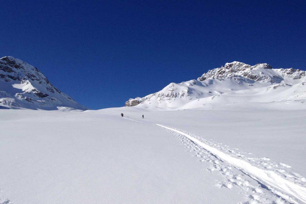 Skitourenkurs-Heidelberger-Hütte---Anstieg-zum-Kronenjoch