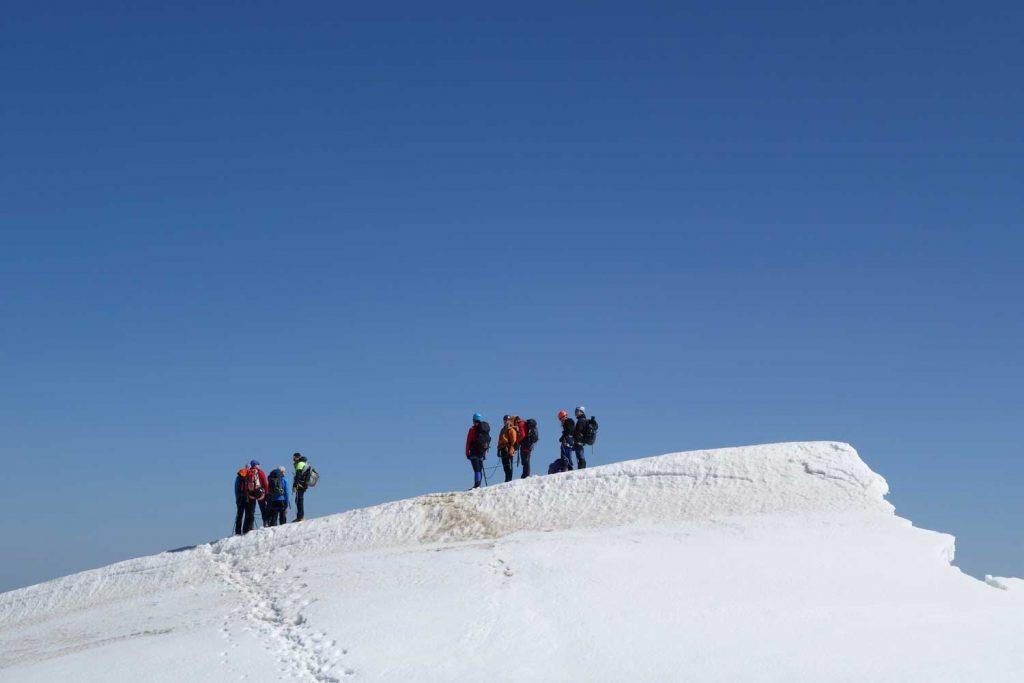 Ötztaler-Wildspitze---Am-Nordgipfel