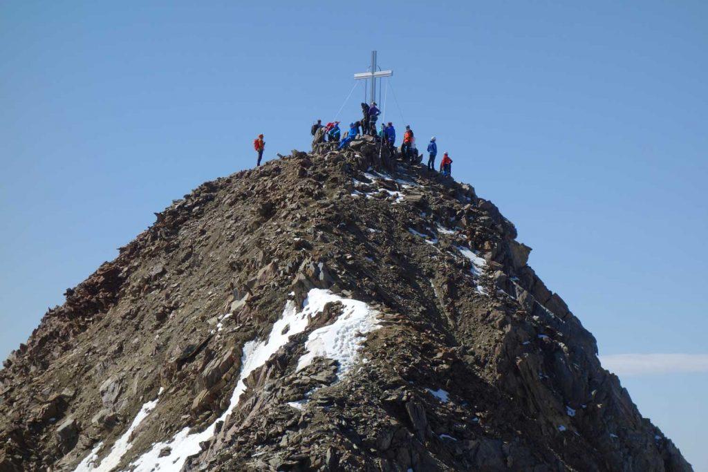 Ötztaler-Wildspitze---Blcik-vom-Nordgipfel-zum-Südgipfel