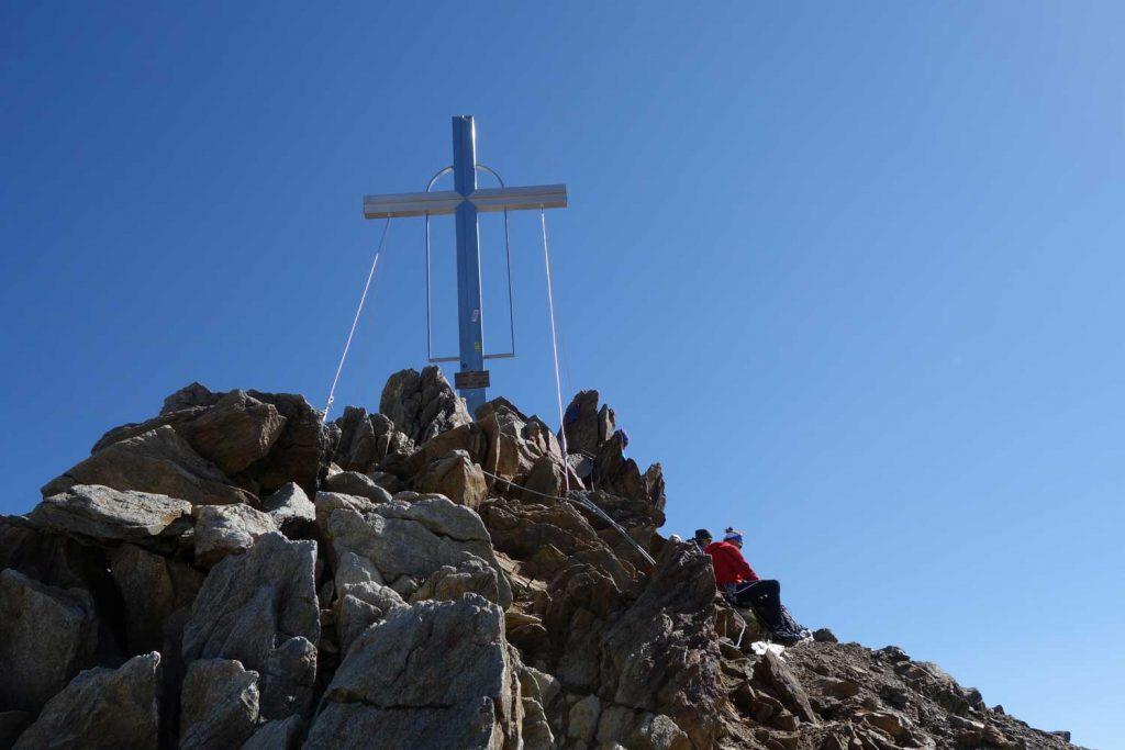 Ötztaler-Wildspitze---Gipfel-vom-Südgrat