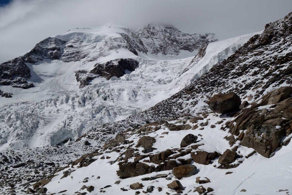 4000er-im-Wallis-Monte-Rosa---Blick-zum-Lysgletscher