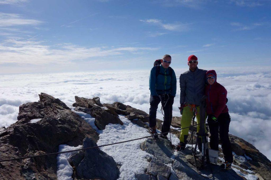 4000er-im-Wallis-Monte-Rosa---Gipfel-Punta-Giordani