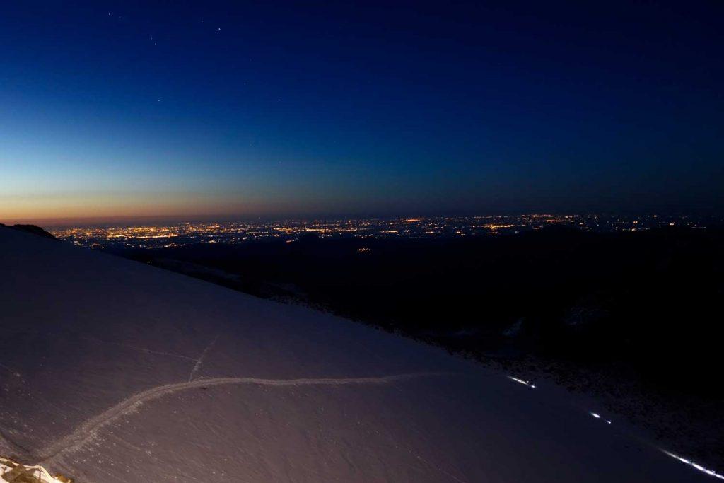 4000er-im-Wallis-Monte-Rosa---Rifugio-Gnifetti-Aufbruch-bei-Nacht