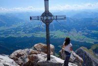 Kopftörlgrat-im-Wilden-Kaiser---Gipfel-Ellmauer-Halt