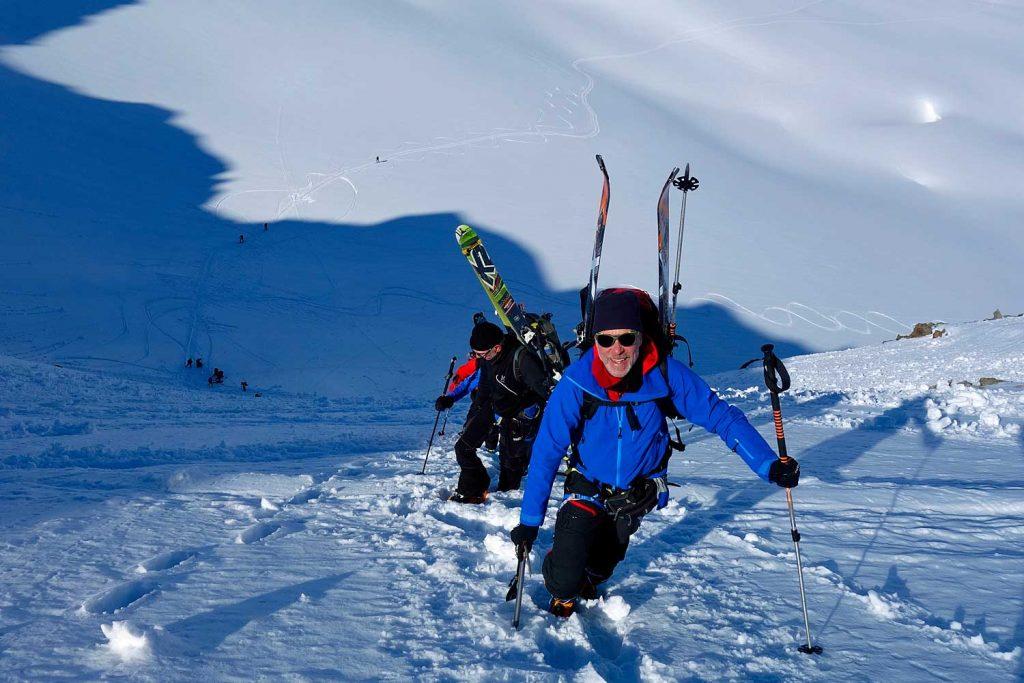 Haute-Route---Anstieg-zum-Col-du-Mont-Brule