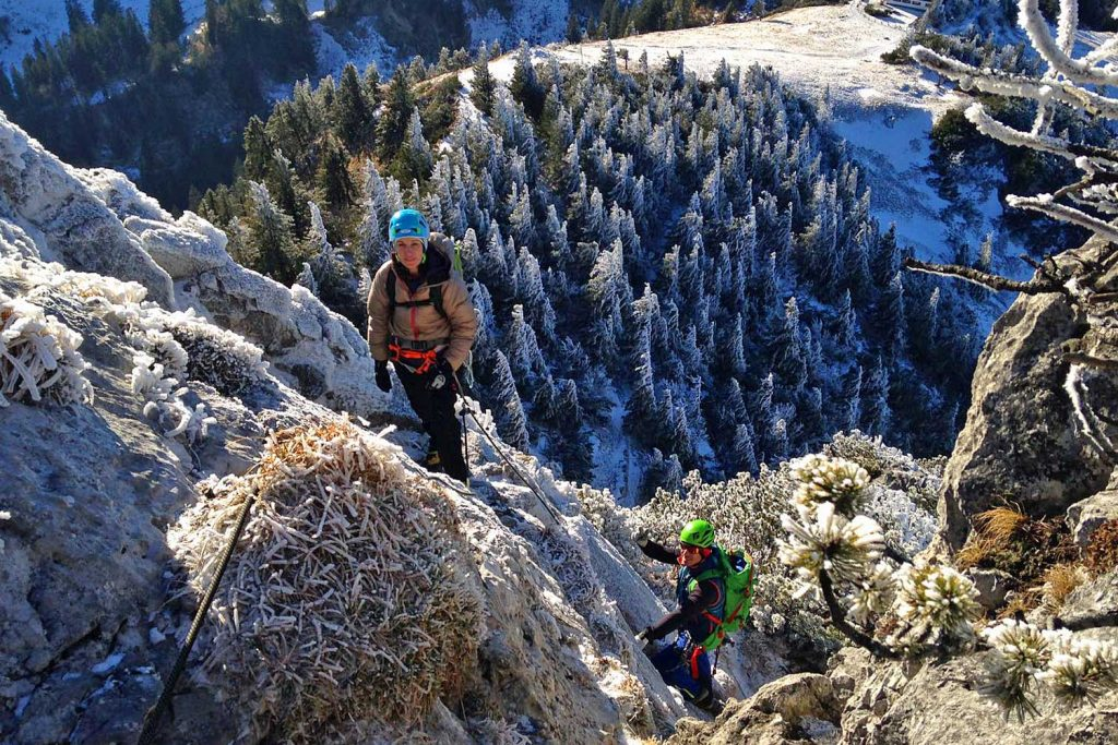 Winterbergsteigen---Kampenwandüberschreitung
