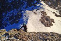 Winterbergsteigen---Klettern-am-Jubiläumsgrat