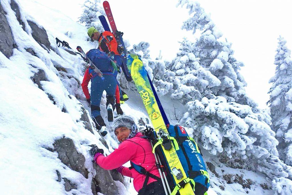 Winterbergsteigen---Skibergsteigen
