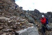 3-Tagestour-zum-Großvenediger---Abstieg-Wallhorn-Törl-zum-Äußeren-Mullwitzkees