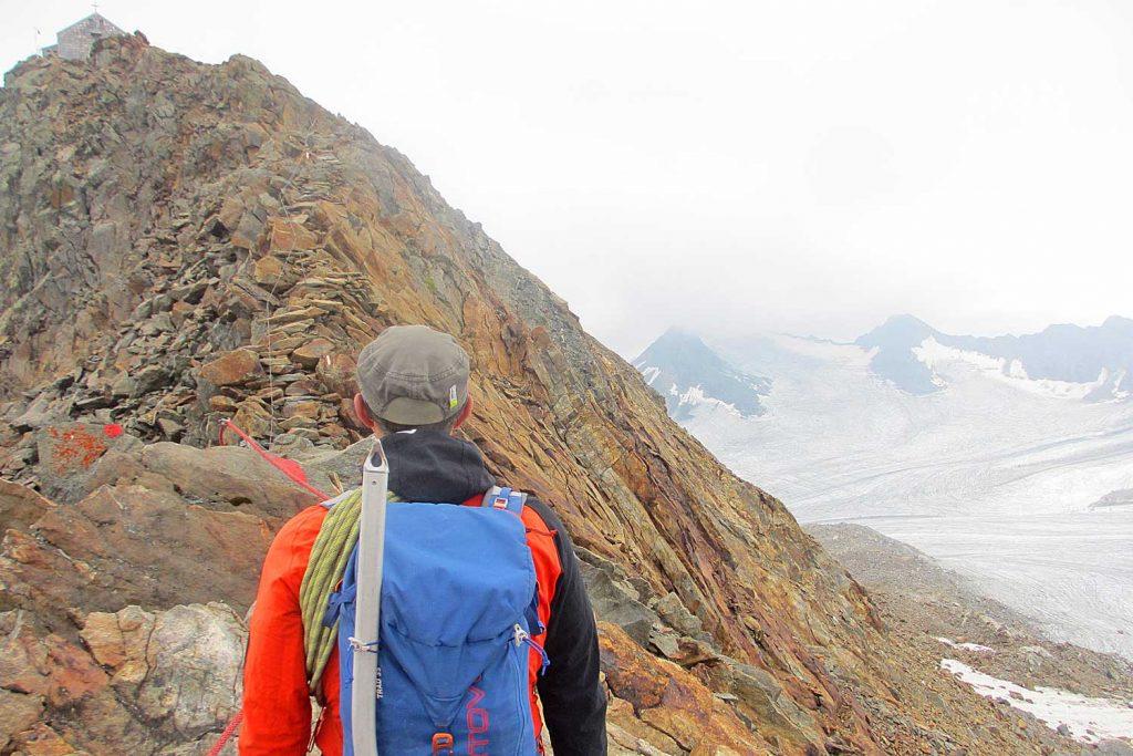 Stubaier-Alpen---Wilder-Freiger,-Wilder-Pfaff-und-Zuckerhütl---Am-Becherhaus