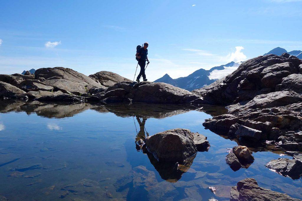 Stubaier-Alpen---Wilder-Freiger,-Wilder-Pfaff-und-Zuckerhütl---Am-Weg-zum-Wilden-Freiger