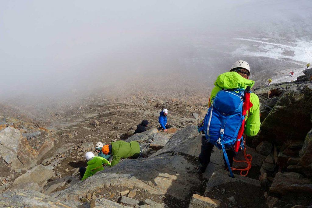 Stubaier-Alpen---Wilder-Freiger,-Wilder-Pfaff-und-Zuckerhütl---Anstieg-zum-Zuckerhütl