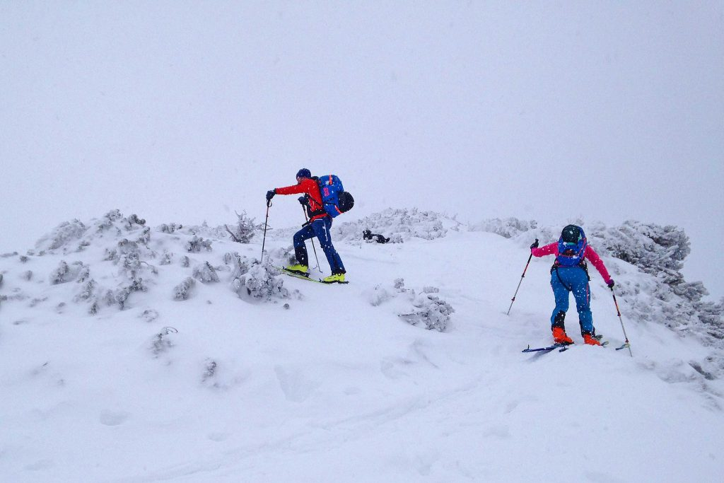 Skitour-Wendelsteingebiet---Am-Grat