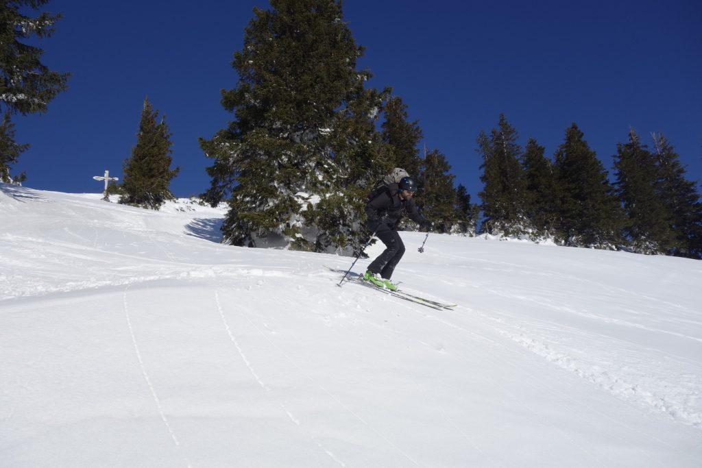 Vorbereitung zur Bergführerausbildung - Abfahrt