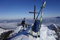 Vorbereitung zur Bergführerausbildung - Am Gipfel