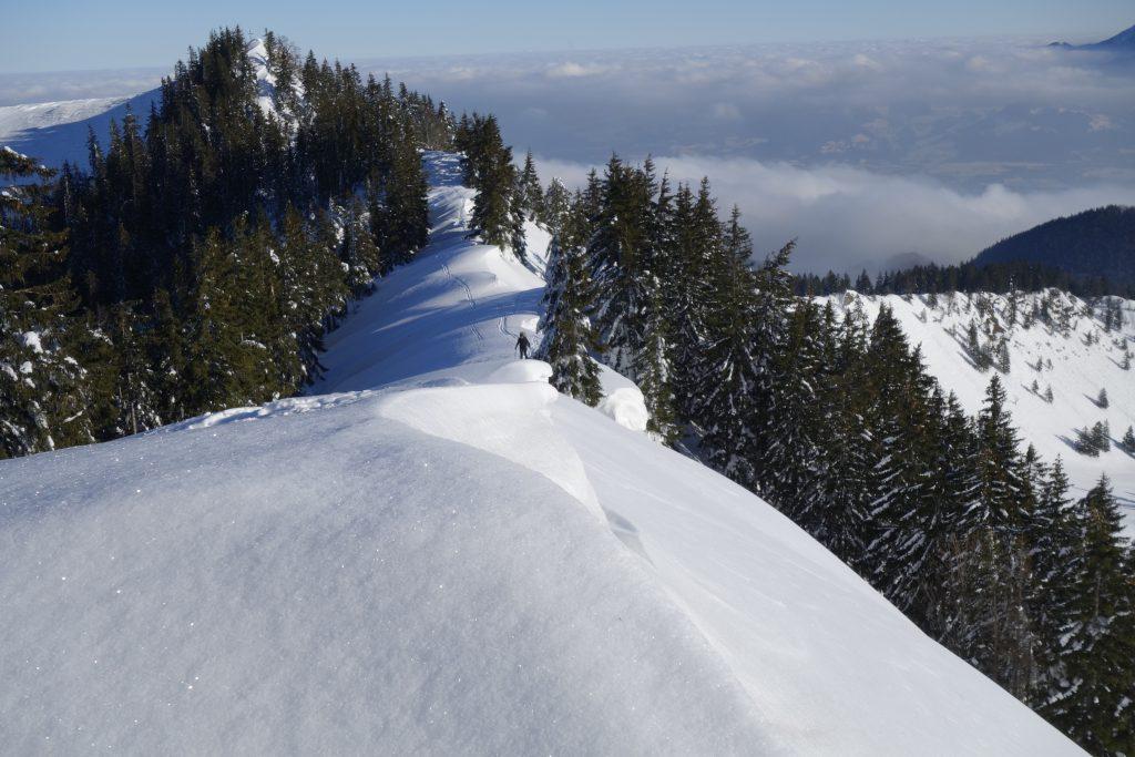 Vorbereitung zur Bergführerausbildung - Am Grat