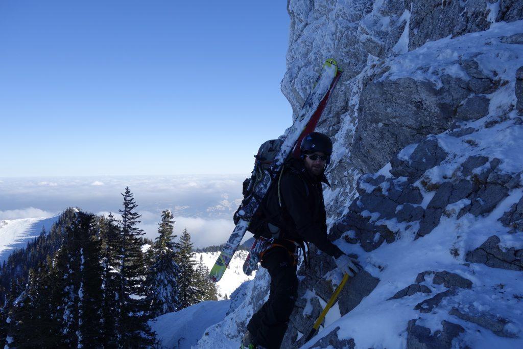 Vorbereitung zur Bergführerausbildung - Klettern