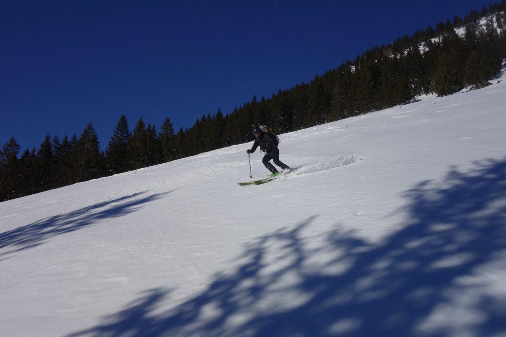Vorbereitung zur Bergführerausbildung - Skifahren