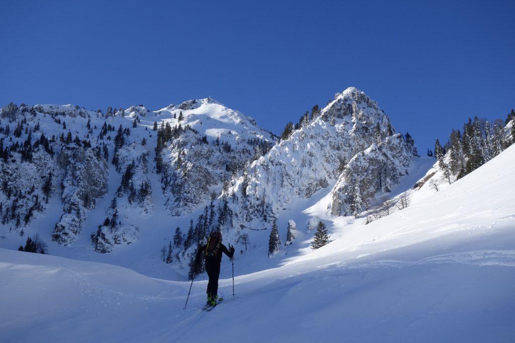 Vorbereitung zur Bergführerausbildung - Zustieg