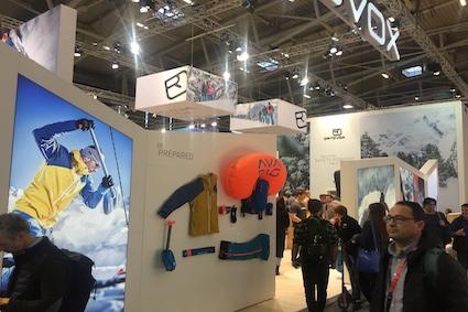 ISPO 2019 - Ortovox Booth