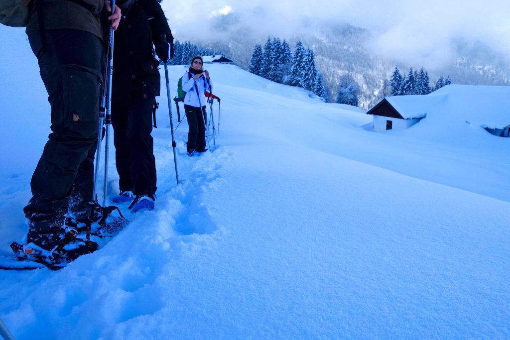 Schneeschuhgehen---Wendelsteingebiet