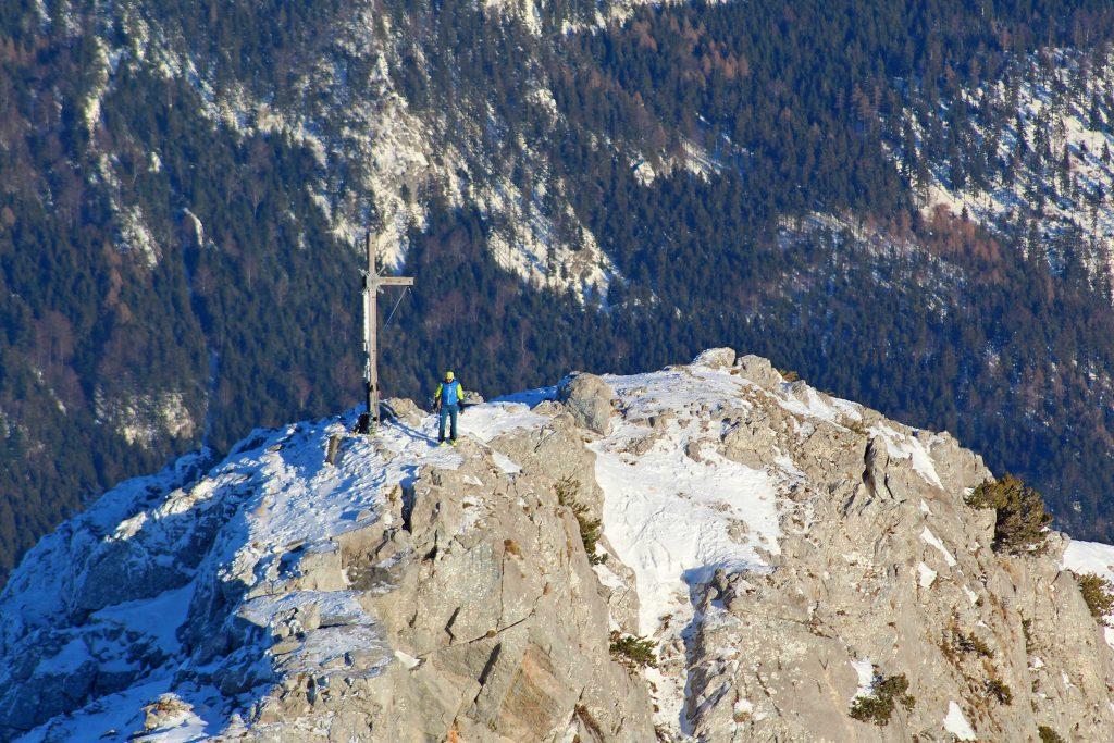 Skitour-Bayerische-Alpen---Kasererwand