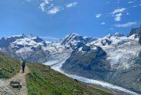 Spaghetti-Runde-im-Wallis---Abstieg-Monte-Rosa-Hütte-nach-Zermatt