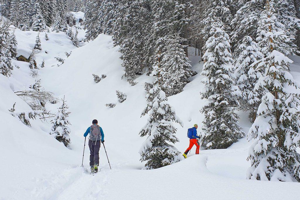 Skitour-in-den-Kitzbüheler-Alpen---Aufstieg-zur-Bamberger-Hütte