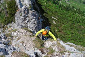 Alpinkletterkurs-Advanced---Klettern-Kampenwand