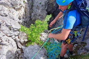 Alpinkletterkurs-Advanced---Standplatzbau-Seilschaft