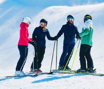 Snow-Emotion-Skischule---Skifahrergruppe