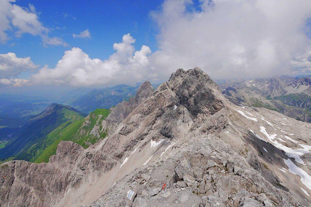 Hochfrottspitze---blick-vom-bockkarkopf-auf-hochfrottspitze-maedelegabel-und-trettachspitze