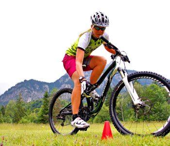 Mountainbike-Fahrtechnikkurs--Geschicklichkeit